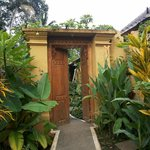 attractive door entrance inside the inn