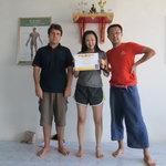 Thai massage certificate in Phuket 2