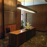 Pointless Unused reception desk at each ground floor