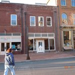 """Front of the """"Dining Room"""" on Main St. in Jonesborough"""