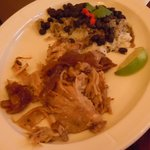 Cuban Roasted Pork with Rice and Black Beans