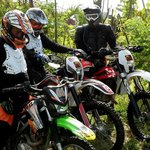 About to go for Bali Mountains Dirt Bike Tour