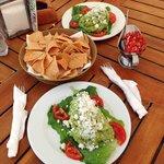 chips salsa guacamole -mmm
