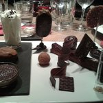 Grand dessert tout chocolat