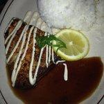 Delicious seared Ahi plate!