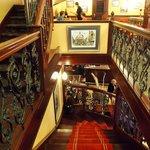 Inside Cafe Tribunaux