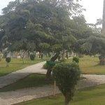 Park inside