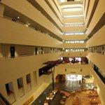 Innenansicht des Hotels
