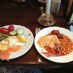 Завтрак в ресторане Egon