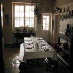 petite salle près de la cuisine