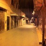 Alley/road up to the riad