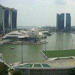Marina Bay view from room