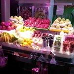 Fruit Seller in Shihlin Nightmarket