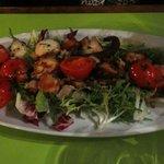 Octupus salad
