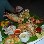 Delicious seafood platter!