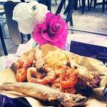 frittura con pescato di giornata