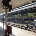 La voie en gare