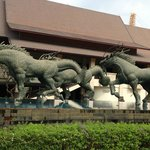 "Sculptures from the famous Thai poet ""Pra apai manee"""