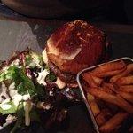 burger maison cheddar/maroilles