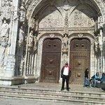 Portal de entrada do Mosteiro: Imponente