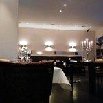 Restaurant setting.