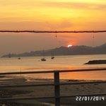 Sunset from DeBaron Kuah