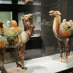 Gorgeous ceramic camels