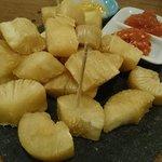 Beerboard fried cassava