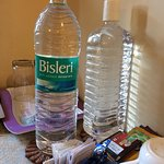New bottles water would have been better