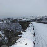 Snow on Viaduct