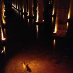 地下宮殿の大貯水池