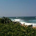 the nearby umhlanga rocks beach