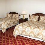 Standard Queen room offers two queen beds
