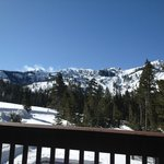 View of Alpine Meadows Ski Hills from Room 11