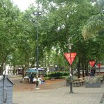 Plaza frente a la Catedral