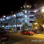 Landcons Hotel by night