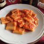 Tomato/Mozzeralla Pasta