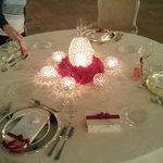 la tavola di san Valentino 2014