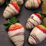 Choc covered strawberries!..
