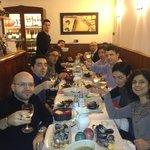 Bellissima serata fra colleghi cena spettacolare