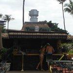 Tiki Bar for snacks and drinks