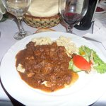 Goulash and noodles