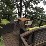 The Meditation Deck... a perfect place for that, a cup of tea or nada!