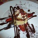 Dessert- White chocolate Souffle