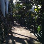Private foot path leading to Kata Noi