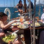 Lunch on Vieques Classic Charter