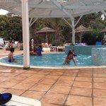 The small kids chlorine pool