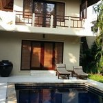 Our home for 2 nights: Jegogan villa