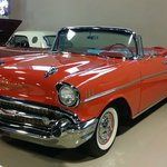 a 57 Chevy Convertible - like is was off the showroom floor