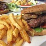 le burger au foie gras